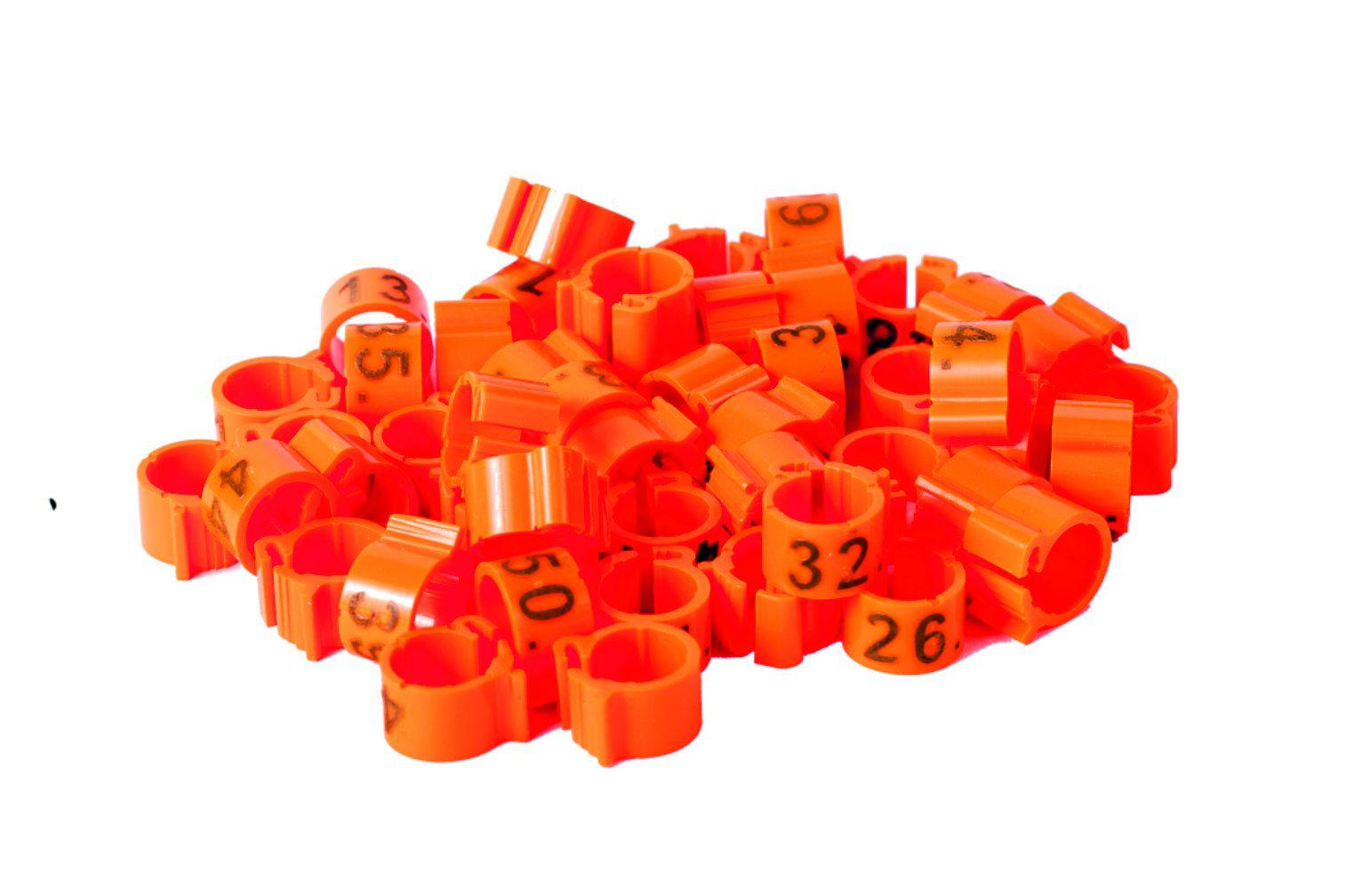 ZNACZNIK ø8x8mm NUMEROWANY 1 - 50, 1 - 100, 1 - 25